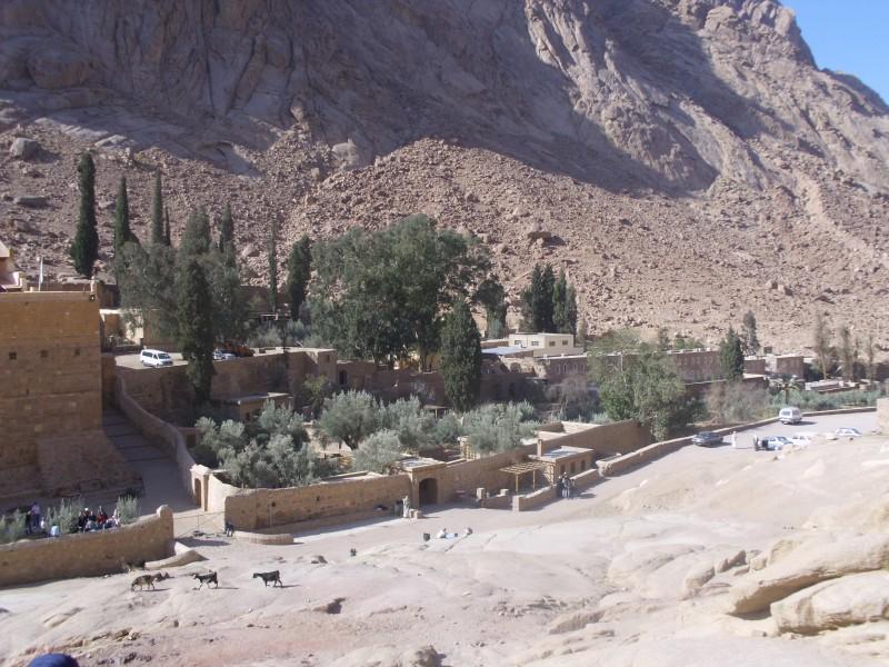 Le monastère de Ste Catherine
