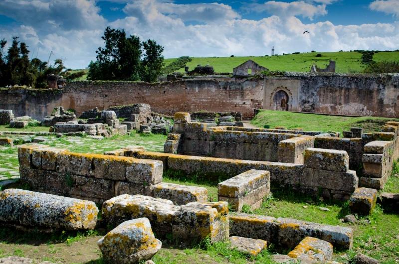 The Chellah Roman Ruins, Rabat