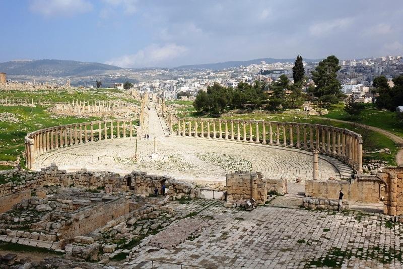 Jerash Panorama.