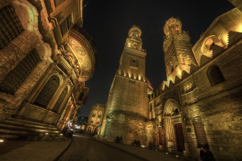 Old Cairo by Night ( El Moez Street )