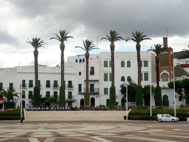 The Old Palace in Tetouan