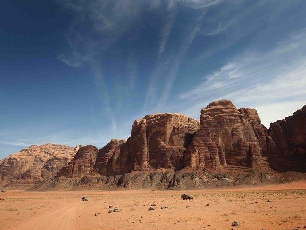 Tour em Wadi Rum a partir do porto de Aqaba