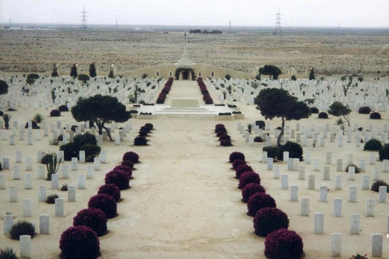 Al Alamein World War II Cemeteries - Egypt