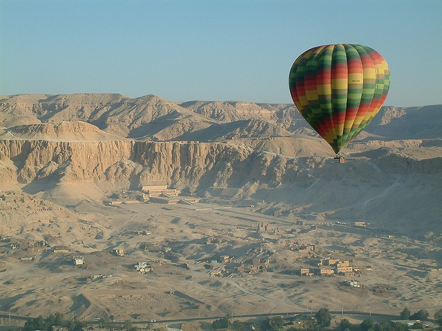 Hot Air Balloon Ride in Luxor, Egypt