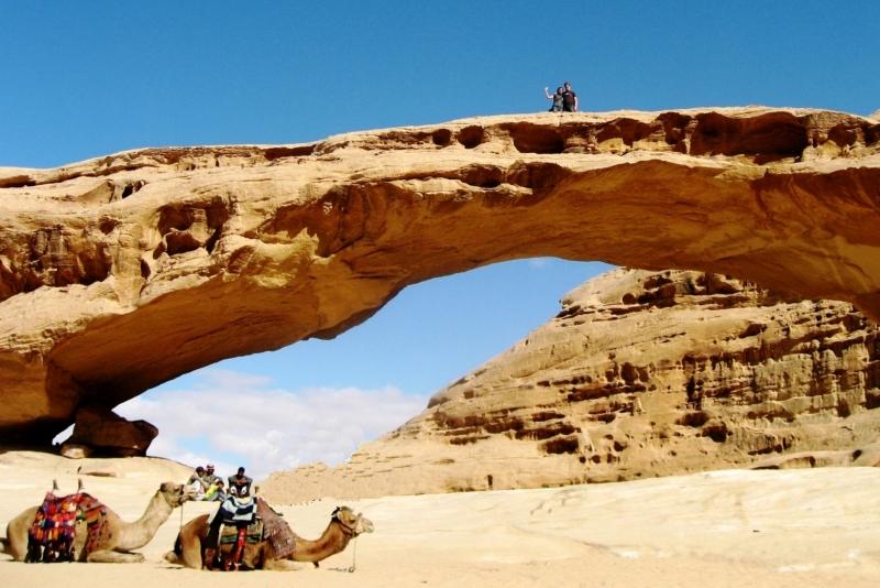 Wadi Rum Rock Formations