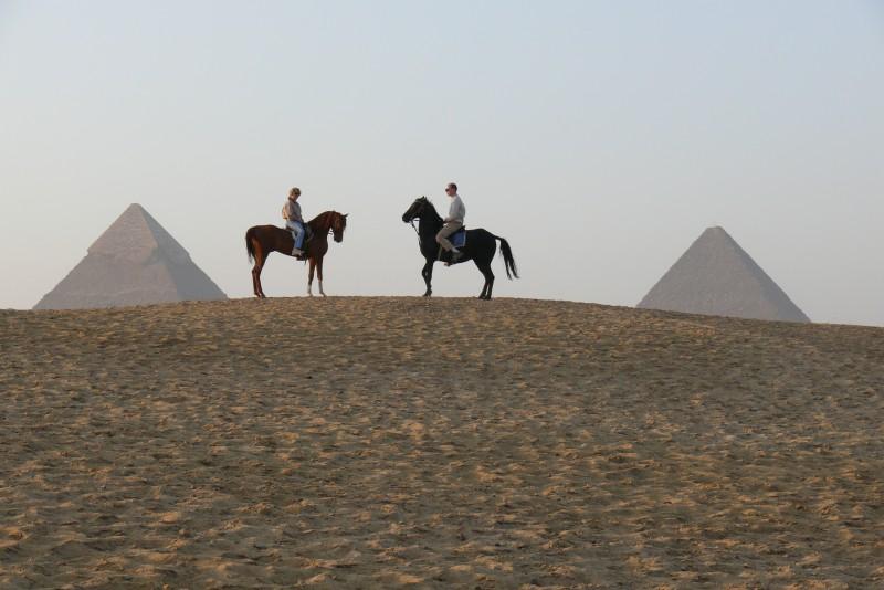 Horse Riding at Pyramids