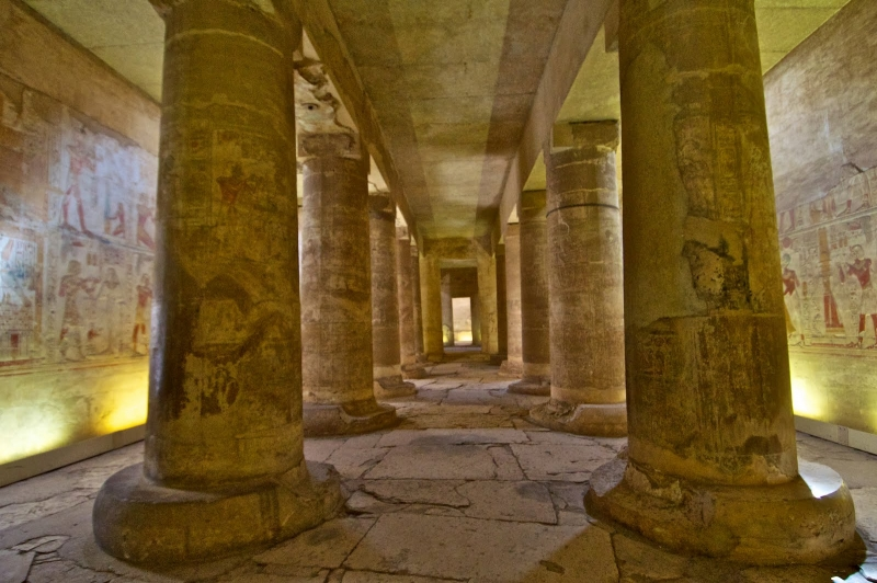 The Temple of Abydos