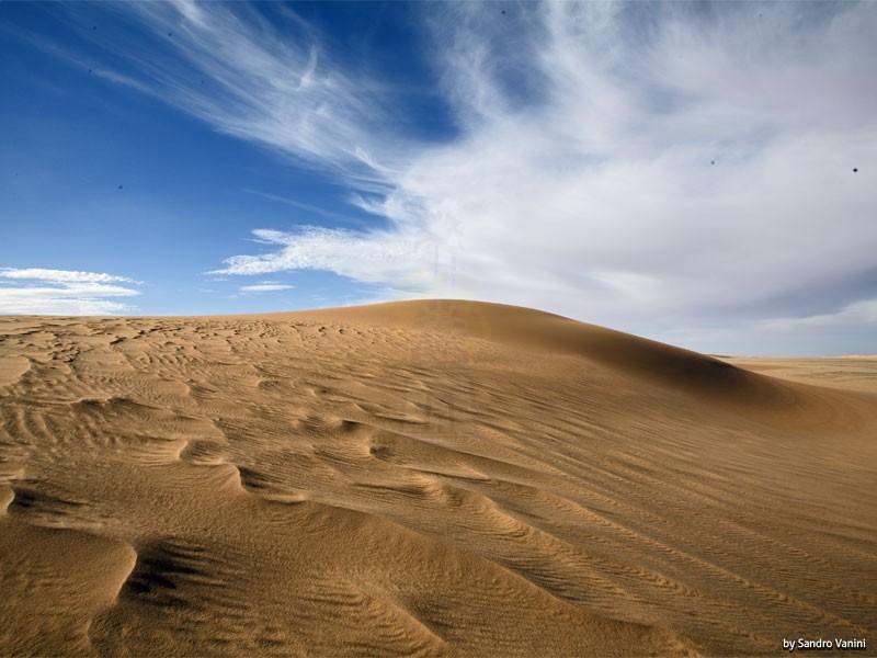 エジプト西部砂漠のビュー