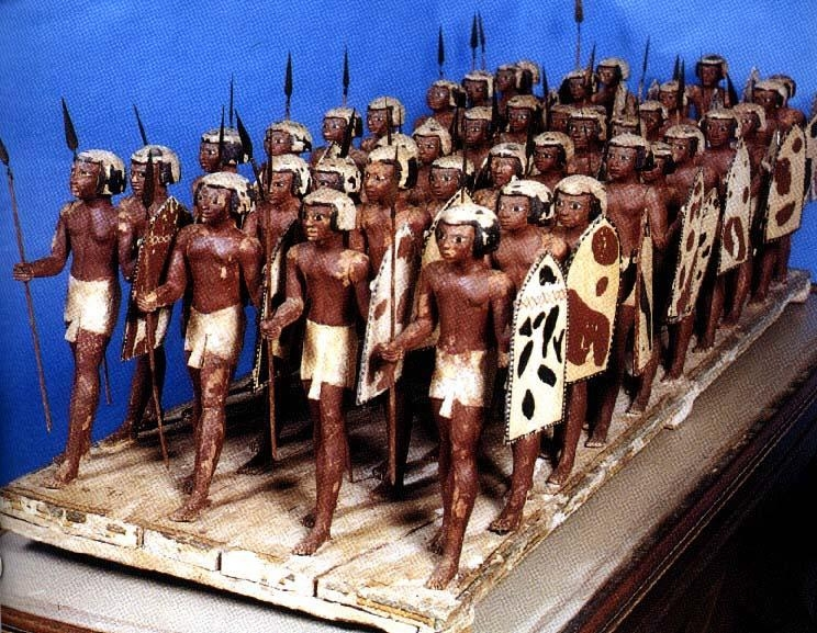 Medjay Soldiers (Egyptian Army), Luxor Museum