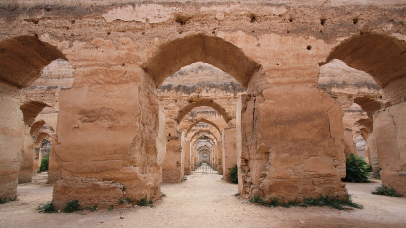 The Royal Stables, Meknes