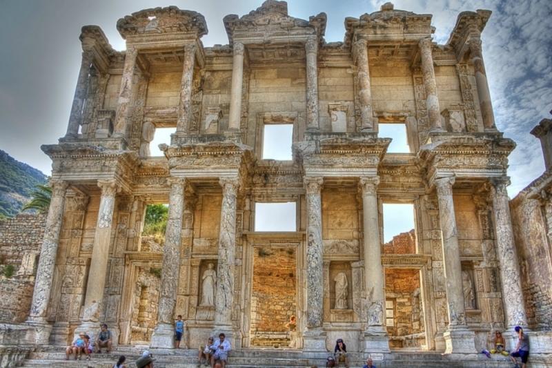La biblioteca de Celsius en Efeso