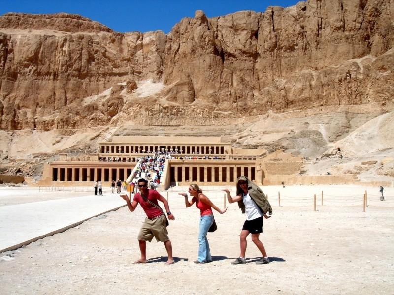 Hatshepsut Temple in Luxor, Egypt