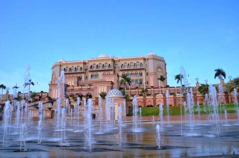 Magical Abu Dhabi with Lunch at Emirates Palace