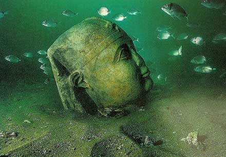 Underwater Museum of Alexandria - Egypt