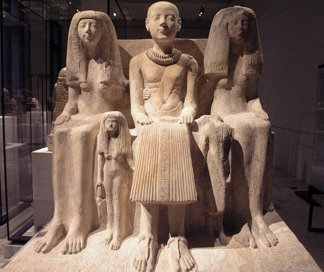 Family Group of Ptahmai in Neues Museum, Berlin