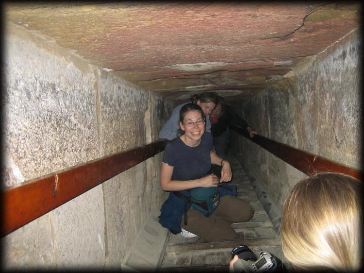 La Pirámide de Micerinos por dentro.