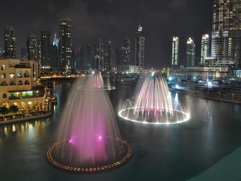 Тур в Бурдж-Халифа и Фонтан Дубая
