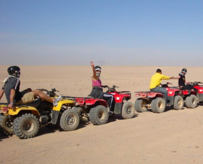 Quad Biking in Sharm, Egypt
