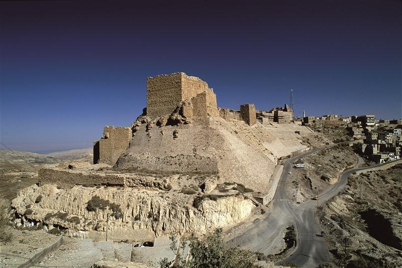 Kerak Fort in Jordan