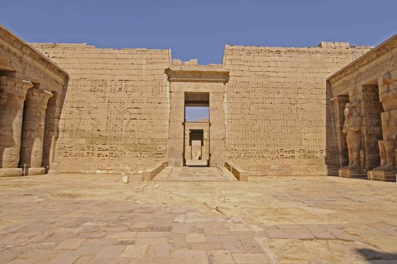 Tempio funerario di Ramses III, Medinet Habu
