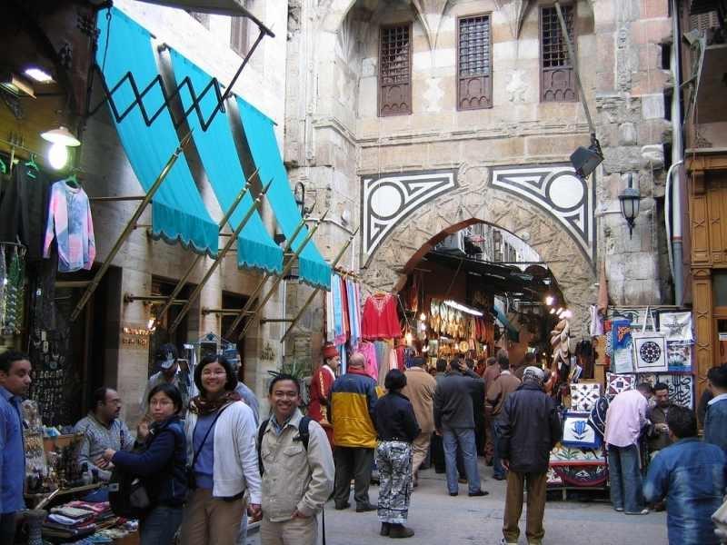 Visite tranquille dans le Souk de Khan el Khalili