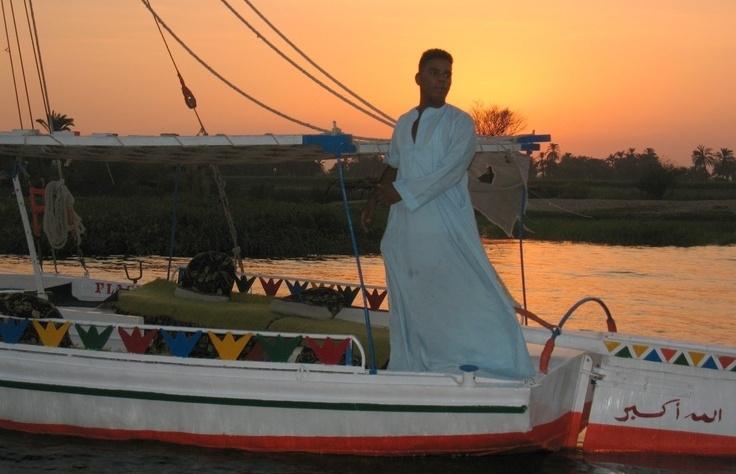 Passeio de Felucca (barco) em Aswan
