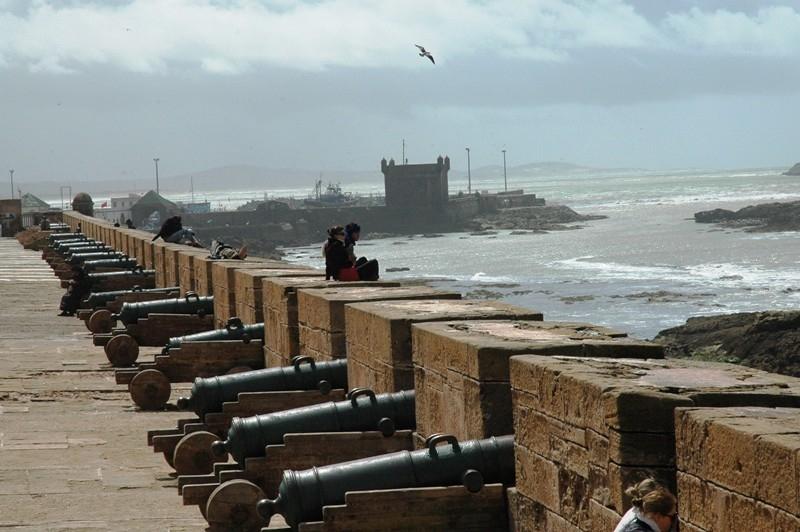 Depuis le fort d'Essaouira
