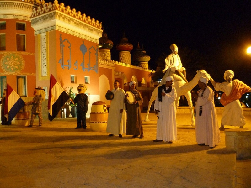 Bedouin Style in Alf Leila Wa Leila