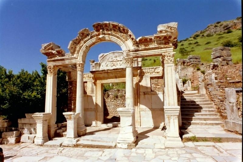 El templo de Hadrian, Efeso