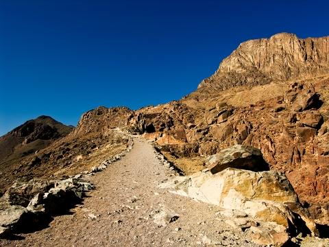 Climbing Mount Sinai, Egypt