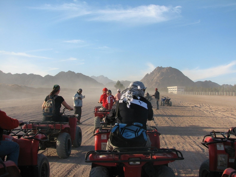 Quad Biking in Sharm