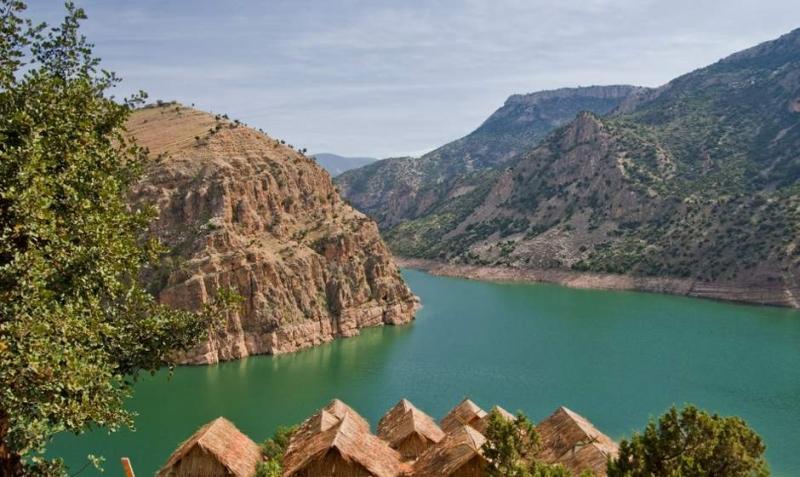 Lake of Asni Ouirgane Valley