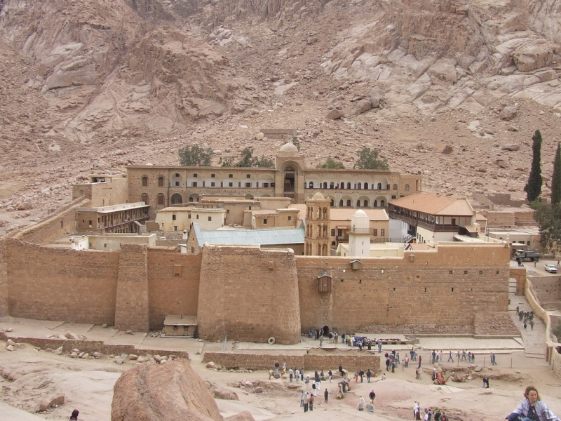 Catherine Monastery in Sinai, Egypt