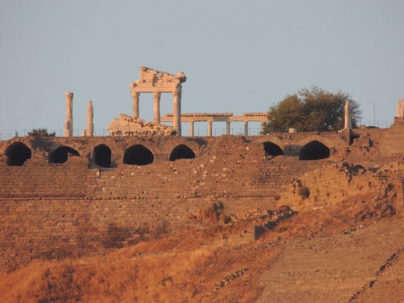 Las ruinas de Bergama