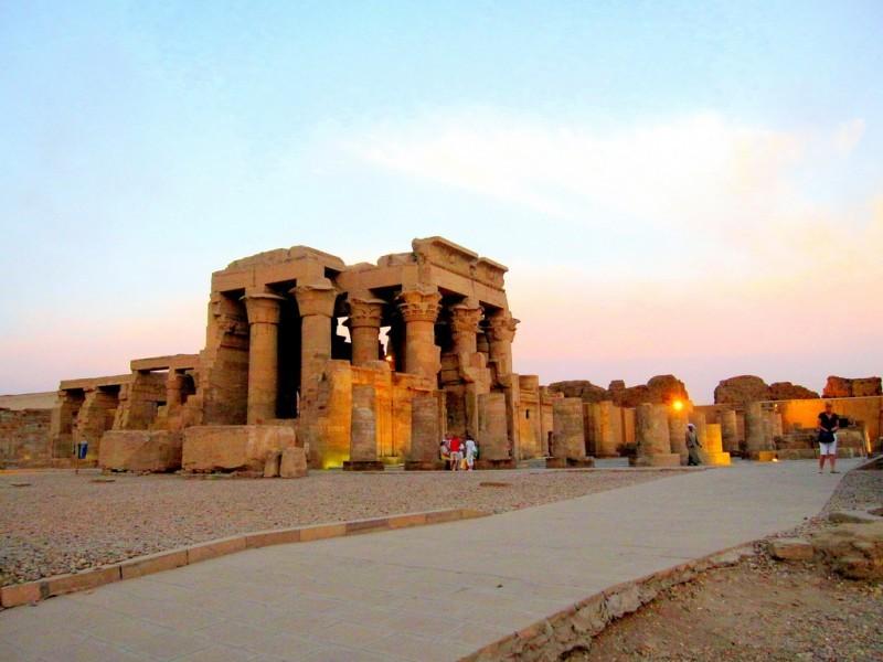 El Templo de Kom Ombo, Kom Ombo Egipto