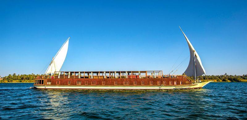 Nebyt Dahabiya sur le Nil