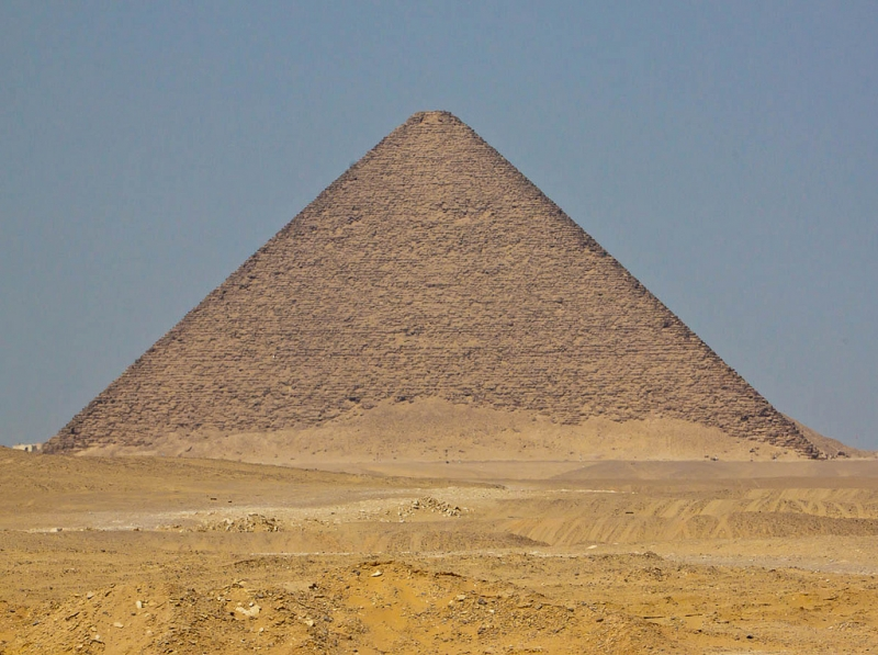 The Red Pyramid at Dahshur City