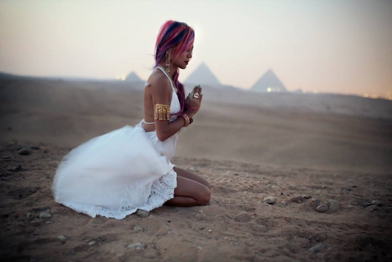 Meditation at the Pyramids