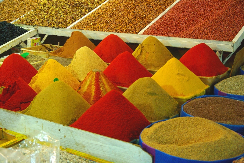 Spices Souk in Taroudant