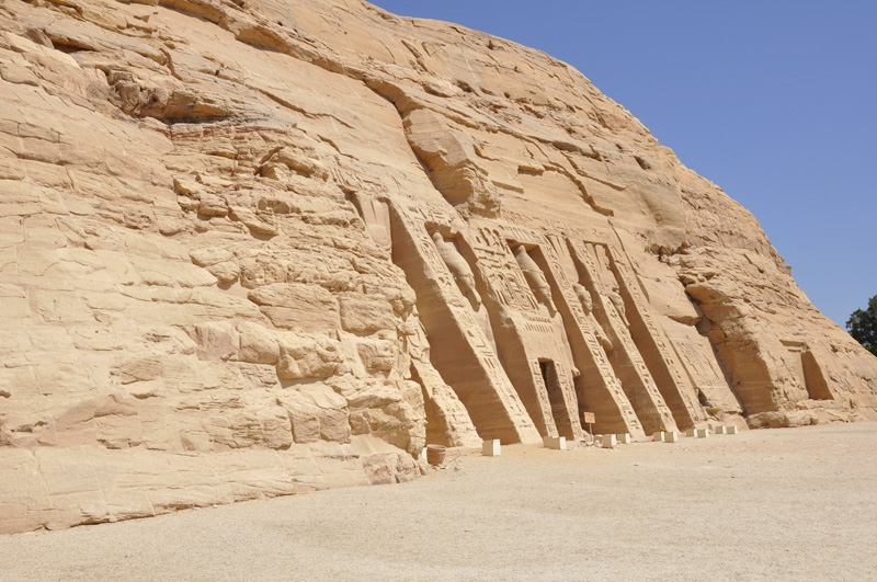 The Temple of Queen Nefertari - Abu Simbel