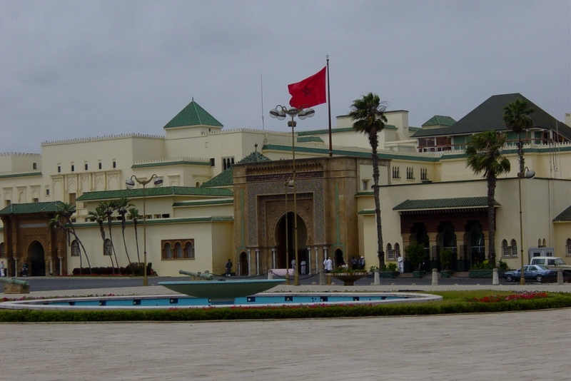 The Royal Palace in Rabat