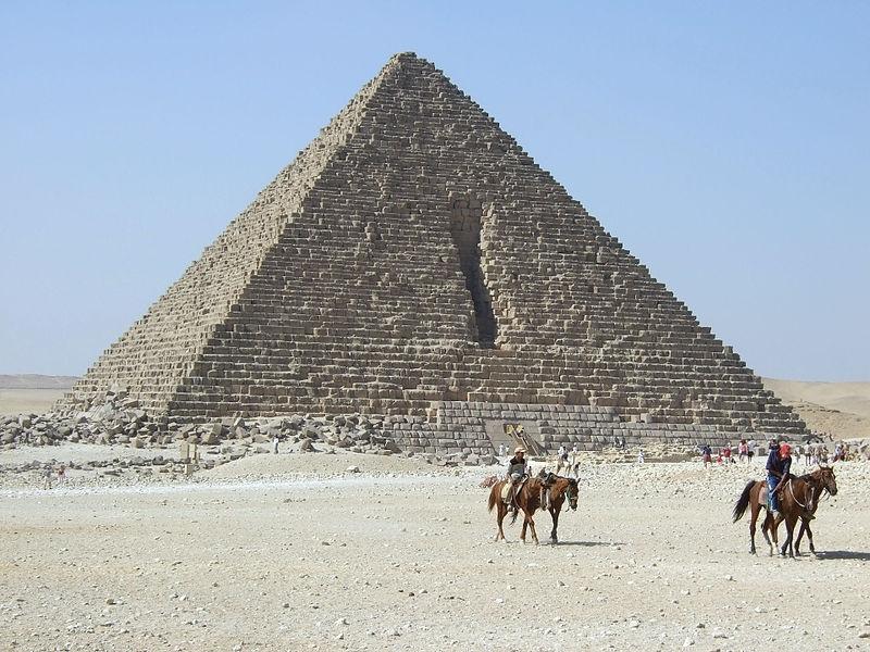 Pyramid of Menkaure (Mykerinus)