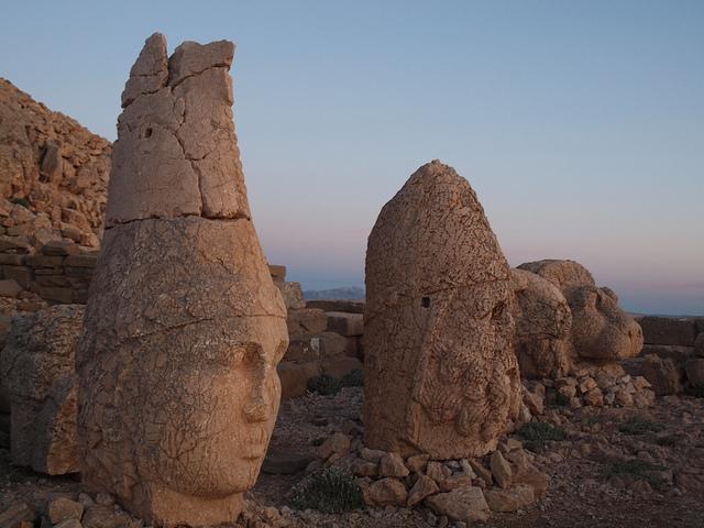 Nemrut in Turkey