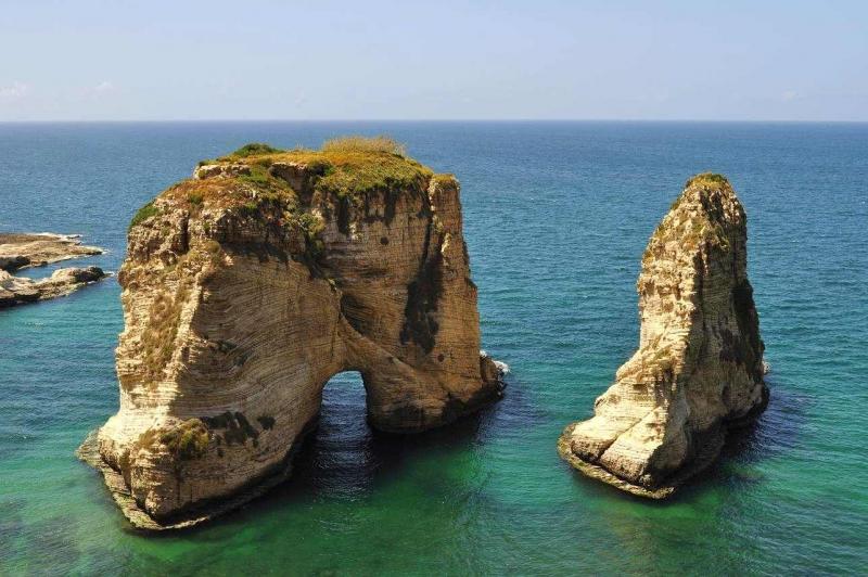 Pigeon Rocks, Beirut, Lebanon