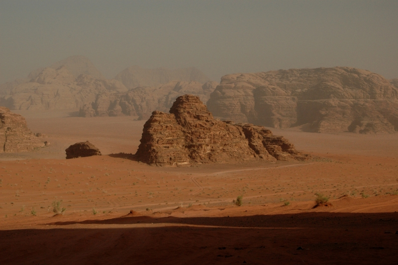 Wadi Rum Desert Valley