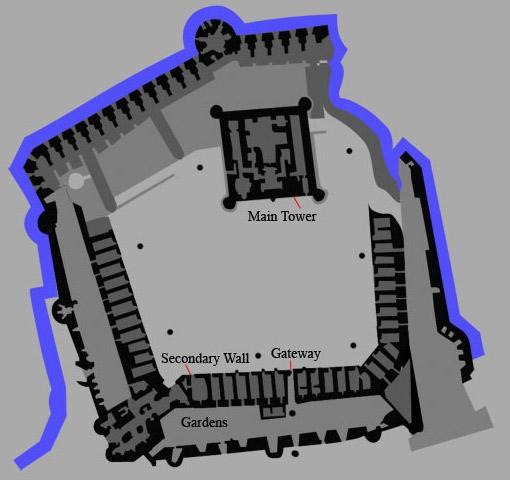 Qaitbay Fortress Map
