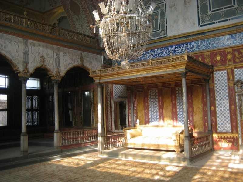 Une salle du Palais de Topkapi