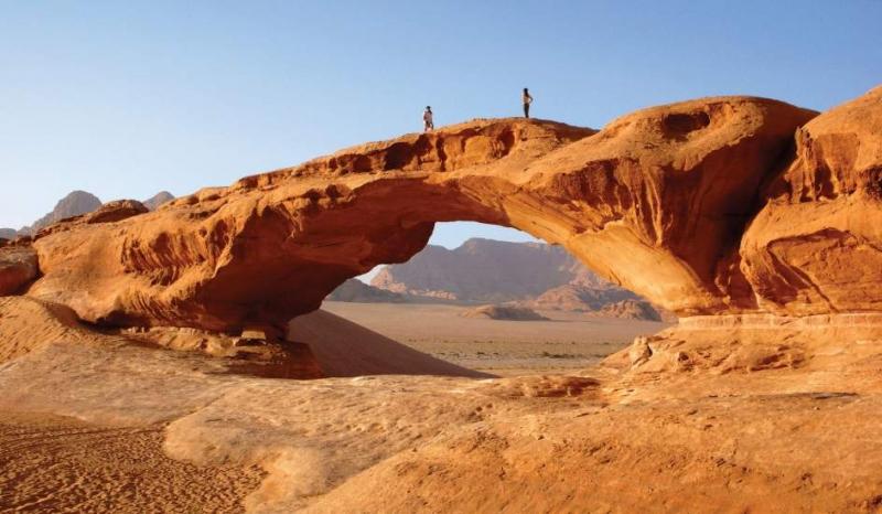 El Desierto de Wadi Rum, Jordania.