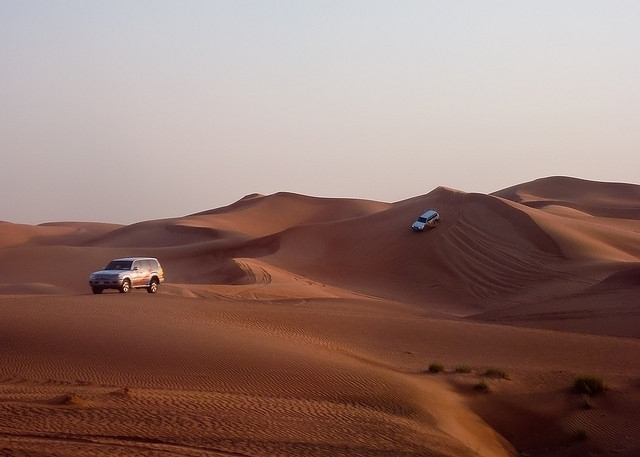 safari no deserto, Abu Dhabi