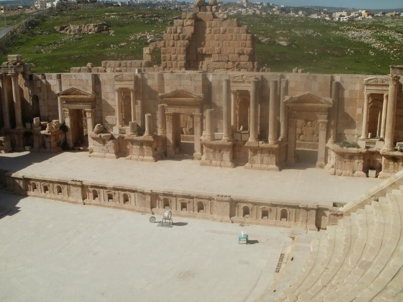 Roman Theatre in Jerash, Jordan